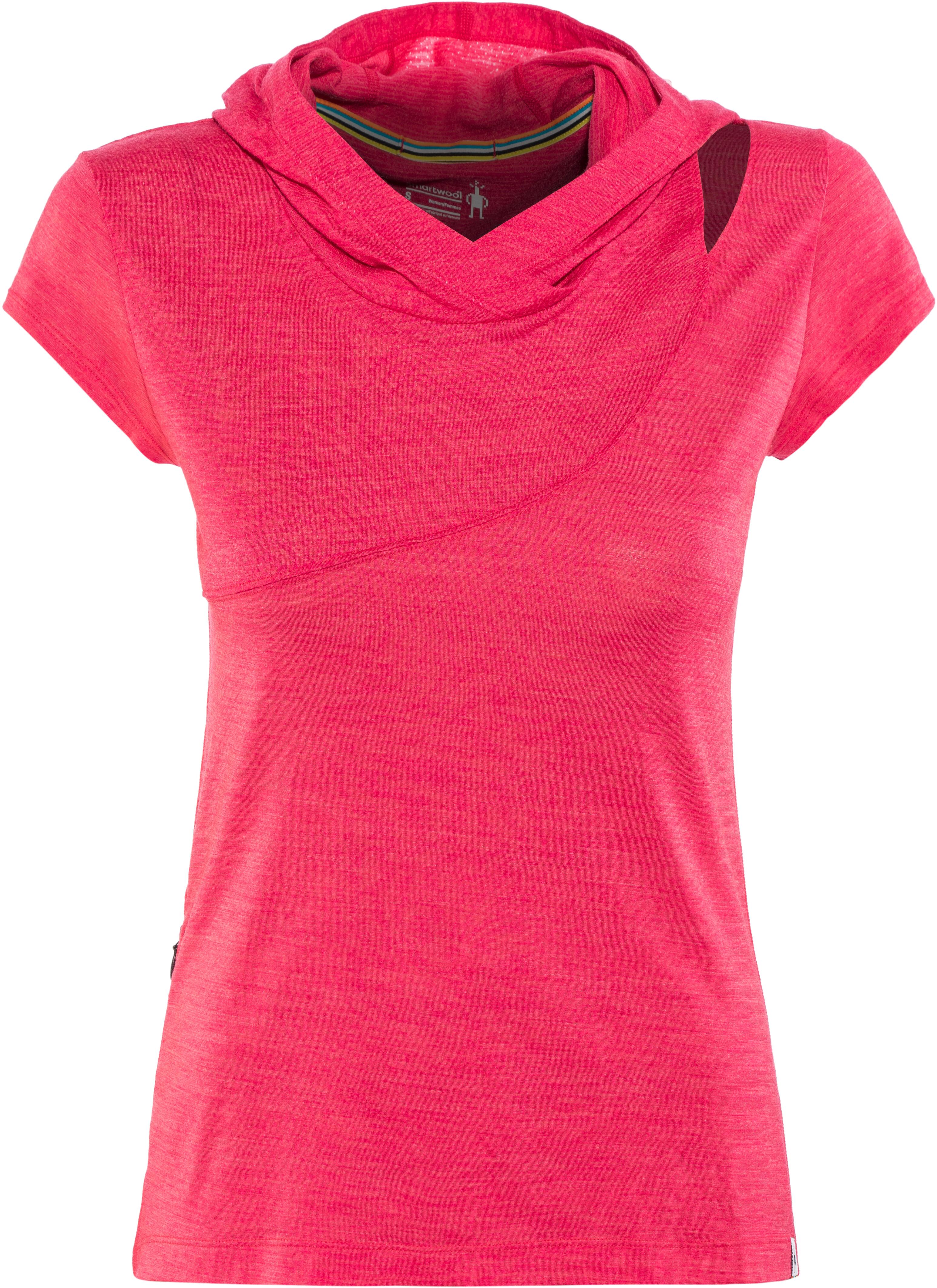 3ea9cc53 Smartwool Everyday Exploration Shortsleeve Shirt Women pink at ...